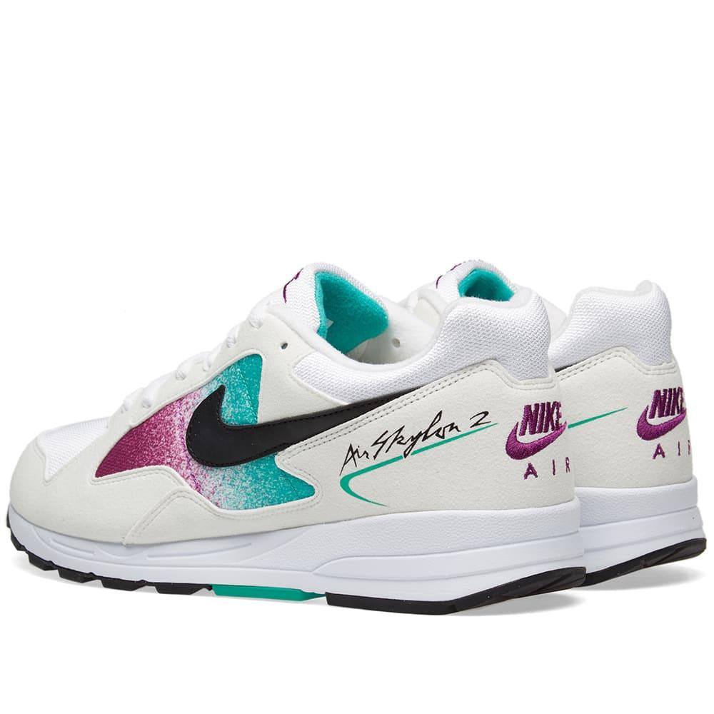 sale retailer 7dd0e 7387f Nike Air Skylon II W White, Black   Clear Emerald   END.