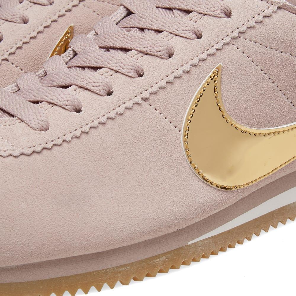 Nike Classic Cortez SE W Taupe, Gold