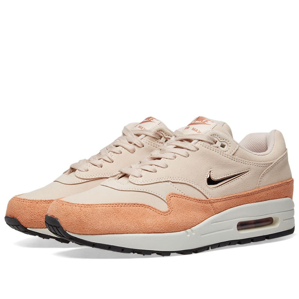 pretty nice 0e91c 027a5 Nike Air Max 1 Premium SC W Guava Ice, Red   Bronze Terra   END.