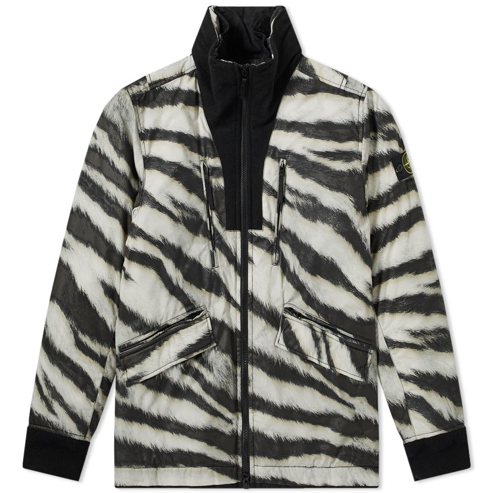 0dde9ff67a325 Stone Island Tiger Camo Primaloft Jacket Beige   END.
