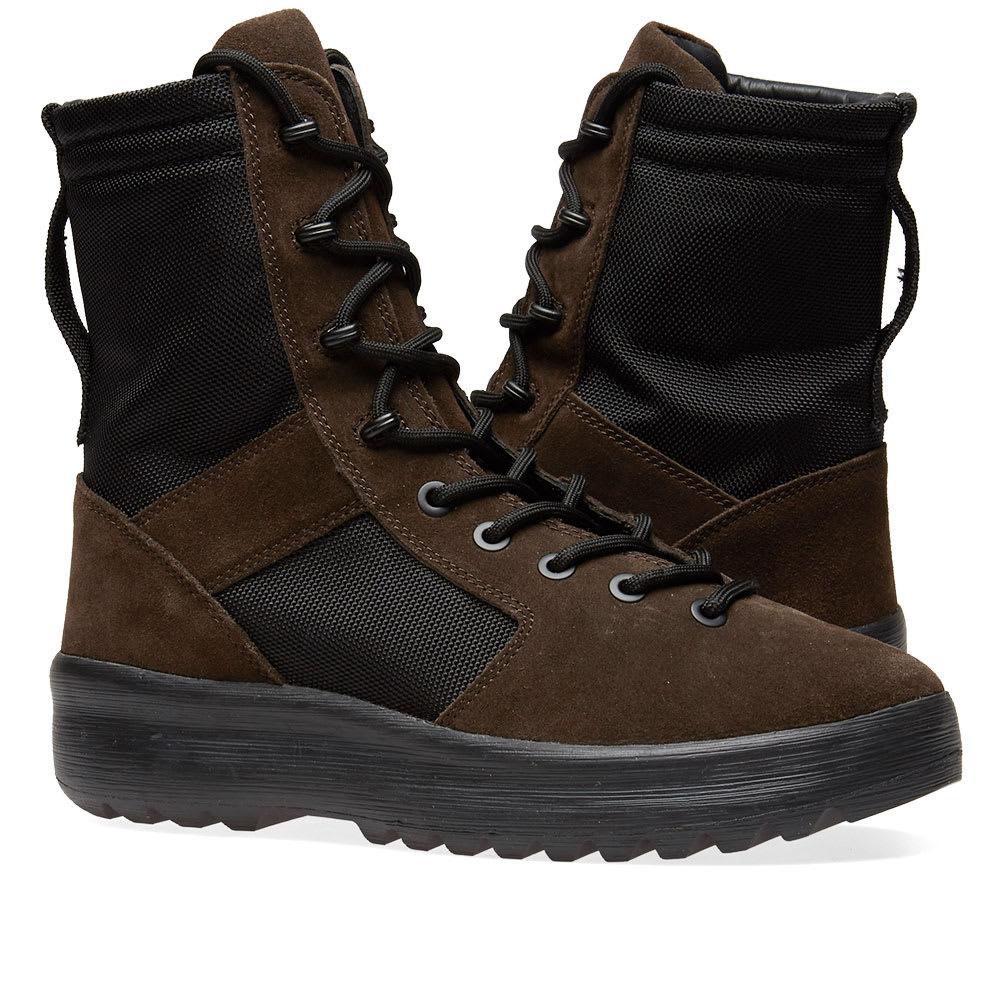 5060e6cfe0948 Yeezy Season 7 Military Boot Oil