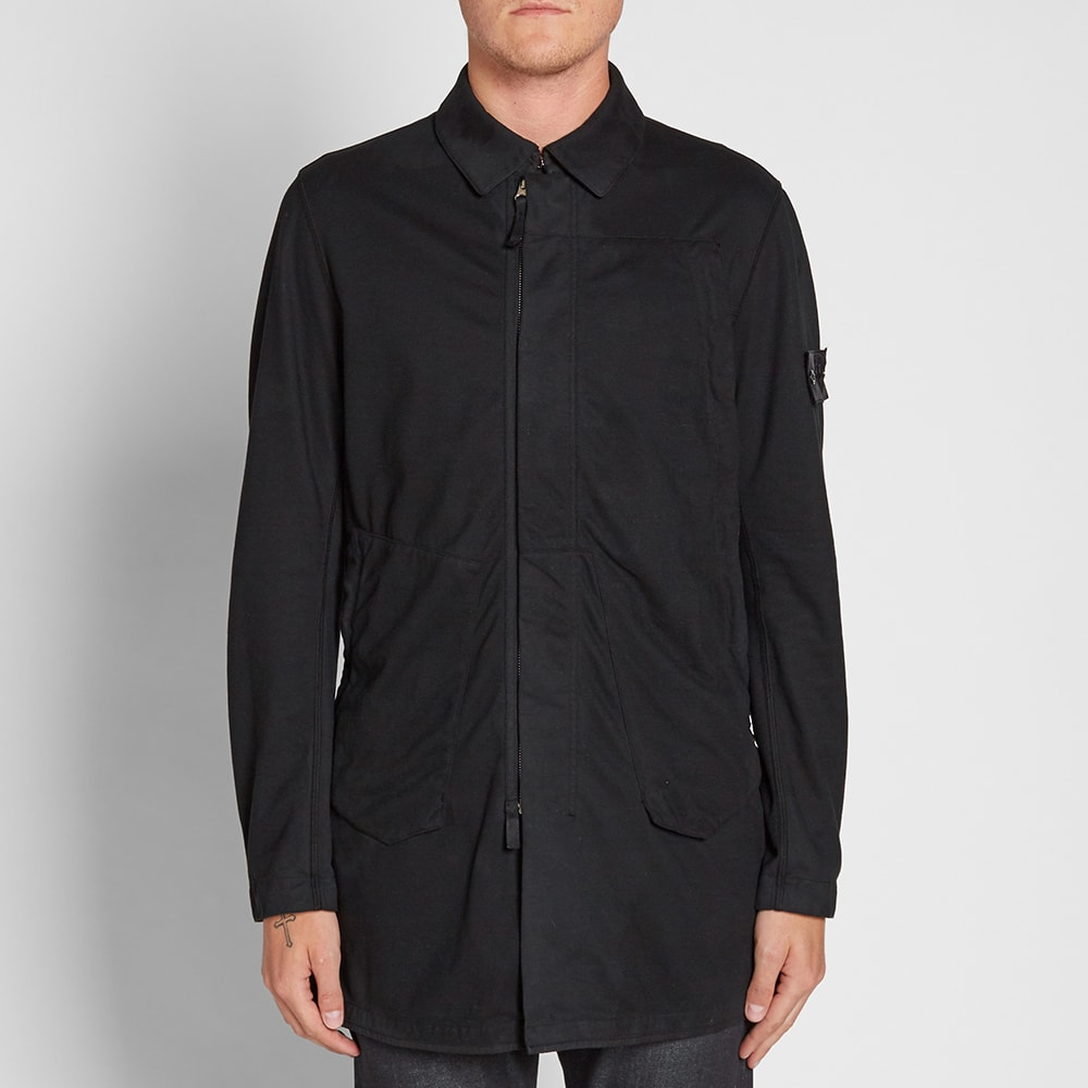 wide varieties fine quality wholesale price Stone Island Shadow Project Jersey-R Light Trench Coat