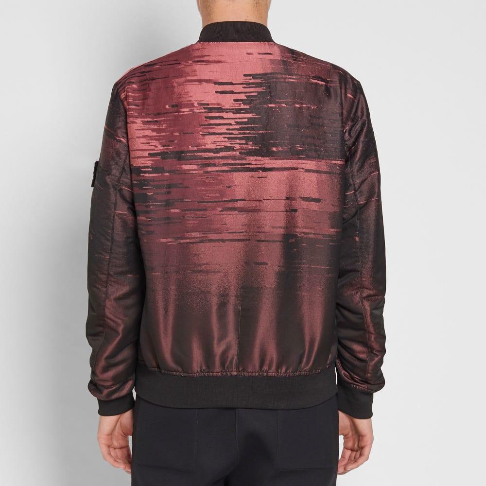 Stone Island Shadow Project Loom Jacquard Garment Dyed Bomber Jacket