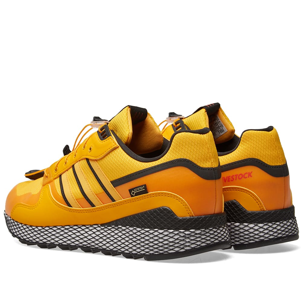 1db59a034d18b Adidas x Livestock Ultra Tech Gore-Tex Yellow   Core Black