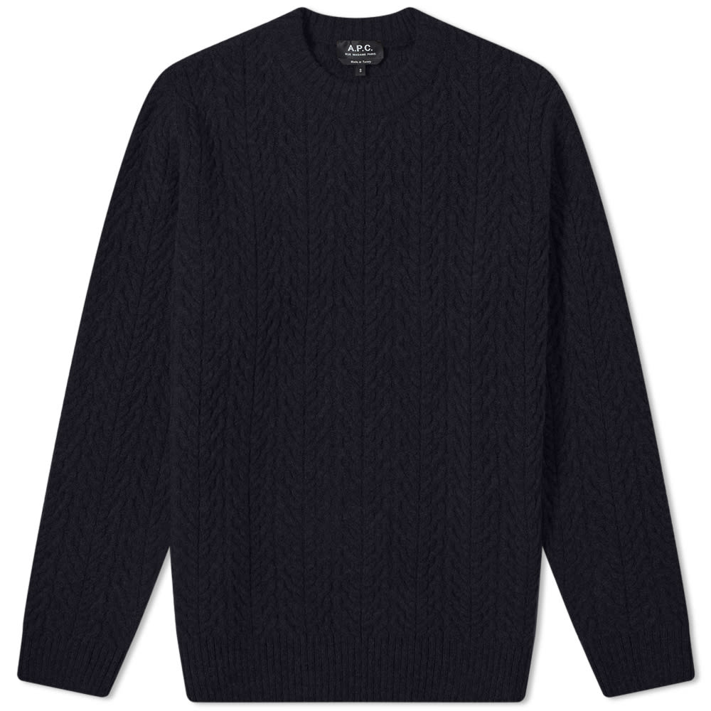A.P.C. Graham Textured Crew Knit