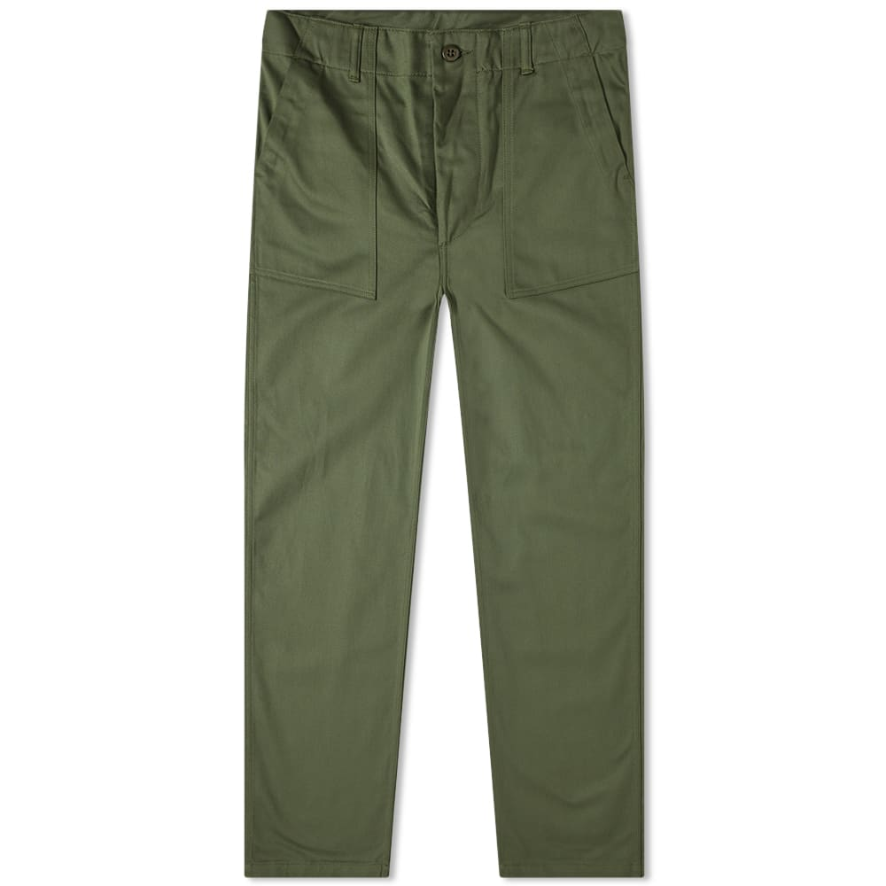 The Real Mc Coy's Cotton Sateen Trouser by The Real Mc Coy