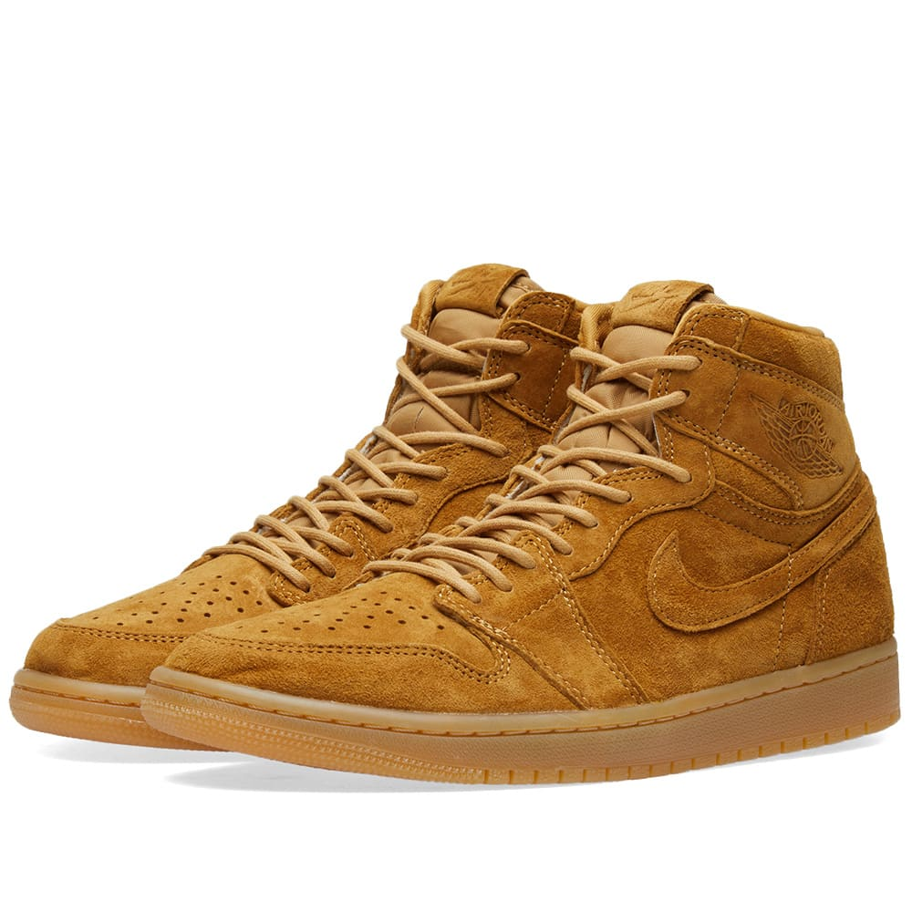 best how to buy factory outlets Air Jordan 1 Retro High OG 'Winter Wheat'
