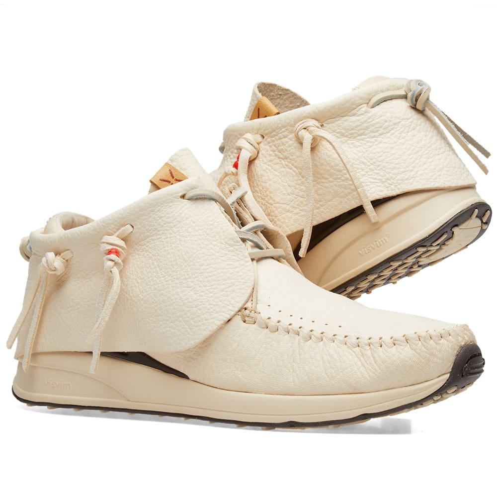 Fbt Full-grain Leather Sneakers - BlackVisvim eA7bN