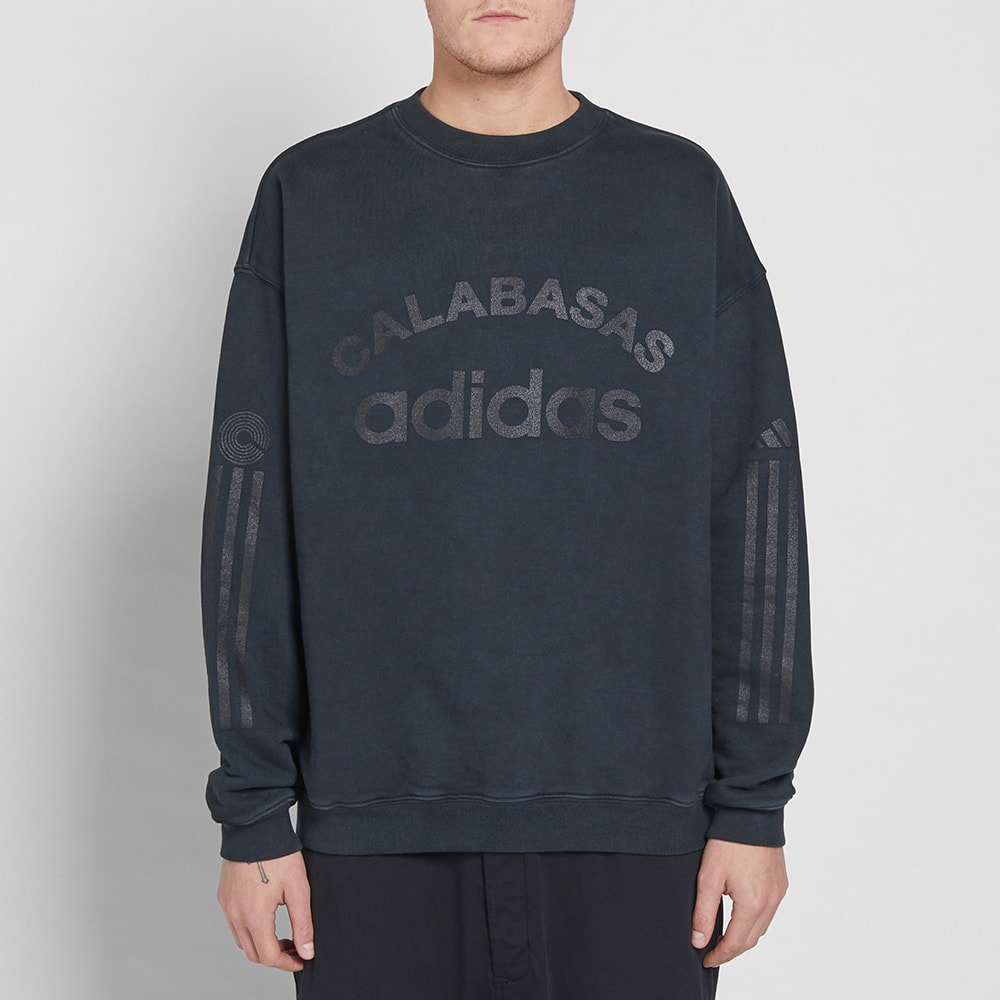 dc214fb80 Yeezy Season 5 Adidas Calabasas Crew Sweat Libra