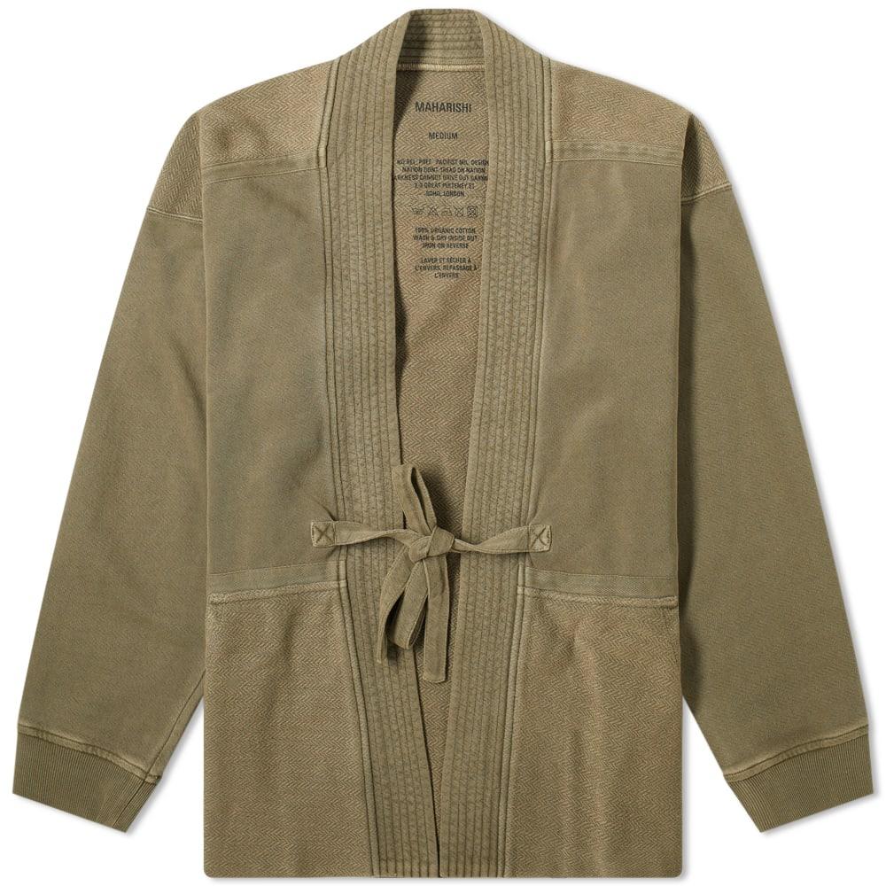 Maharishi Herringbone Jersey Kimono
