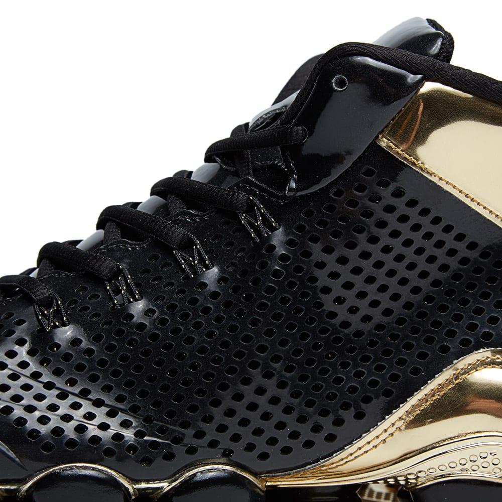 50a348770d108 Nike Shox TLX Mid SP Black   Metallic Gold