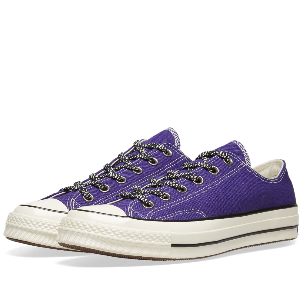 61f01718d9b6 Converse Chuck Taylor 1970s Ox Vintage Canvas Mountaineering New Orchid