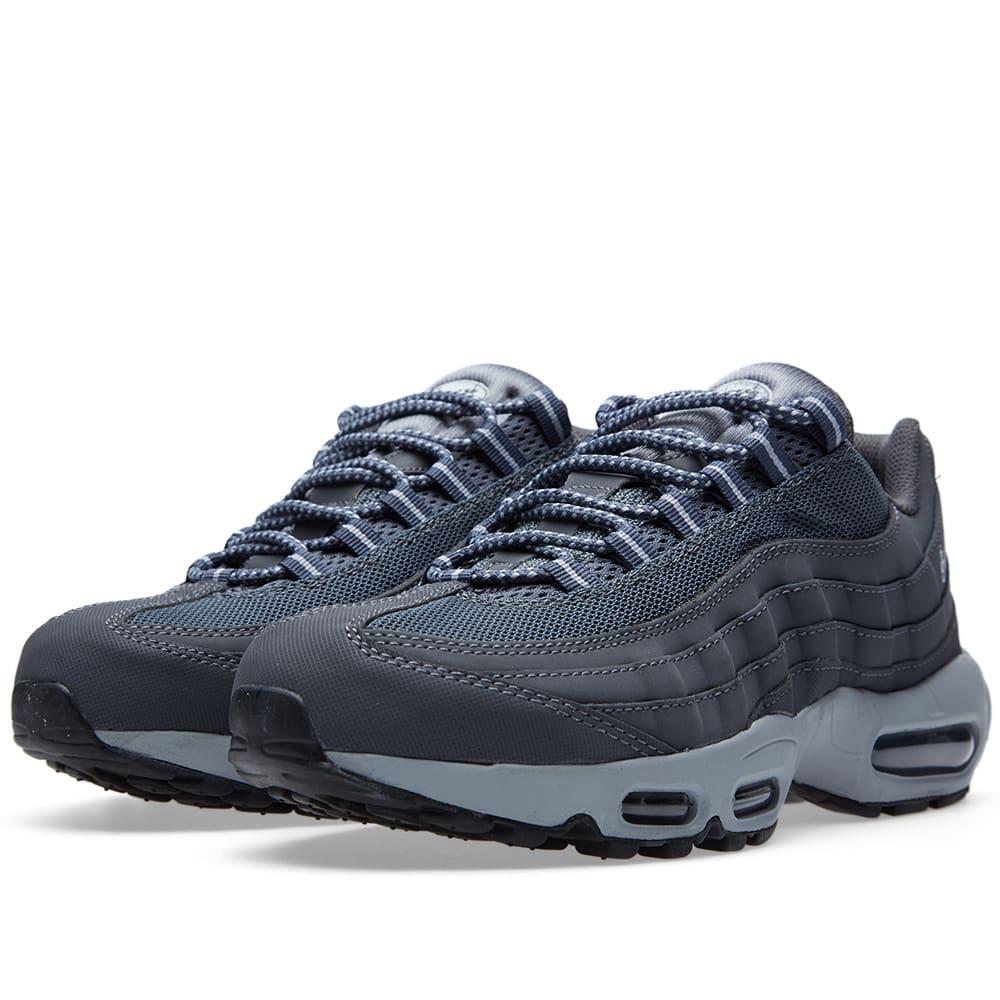 sports shoes c66e5 804c3 Nike Air Max 95 Dark Grey, Wolf Grey   Black   END.