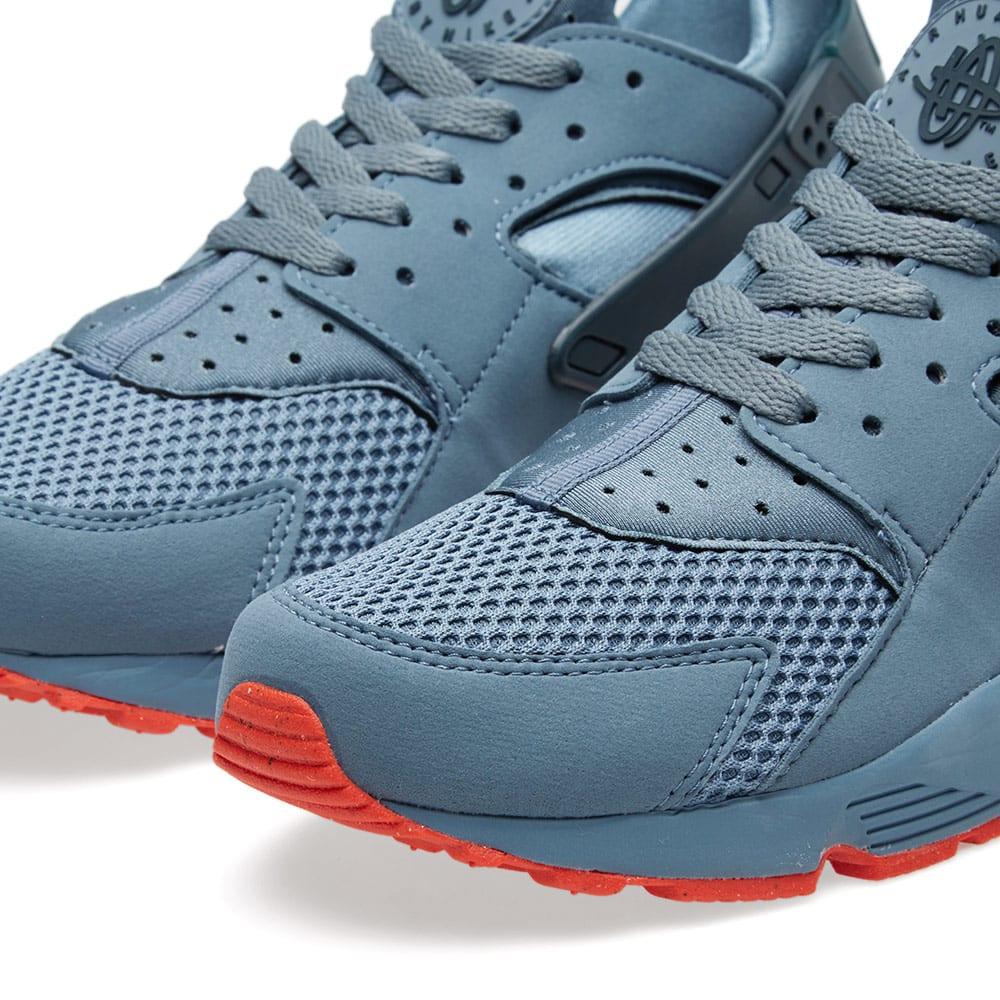cheaper e1fdc 78bd9 Nike Air Huarache Run FB Blue Graphite   Bright Crimson   END.