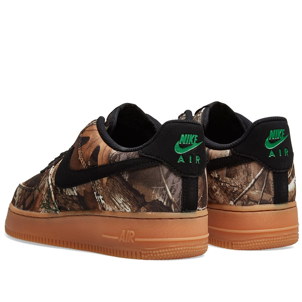 pretty nice 4059a 16e4e Nike Air Force 1  07 LV8 3  Realtree Camo  Black, Aloe   Brown   END.