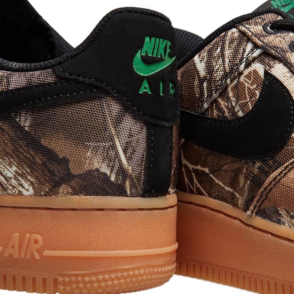 pretty nice 01a68 cc5bb Nike Air Force 1  07 LV8 3  Realtree Camo  Black, Aloe   Brown   END.