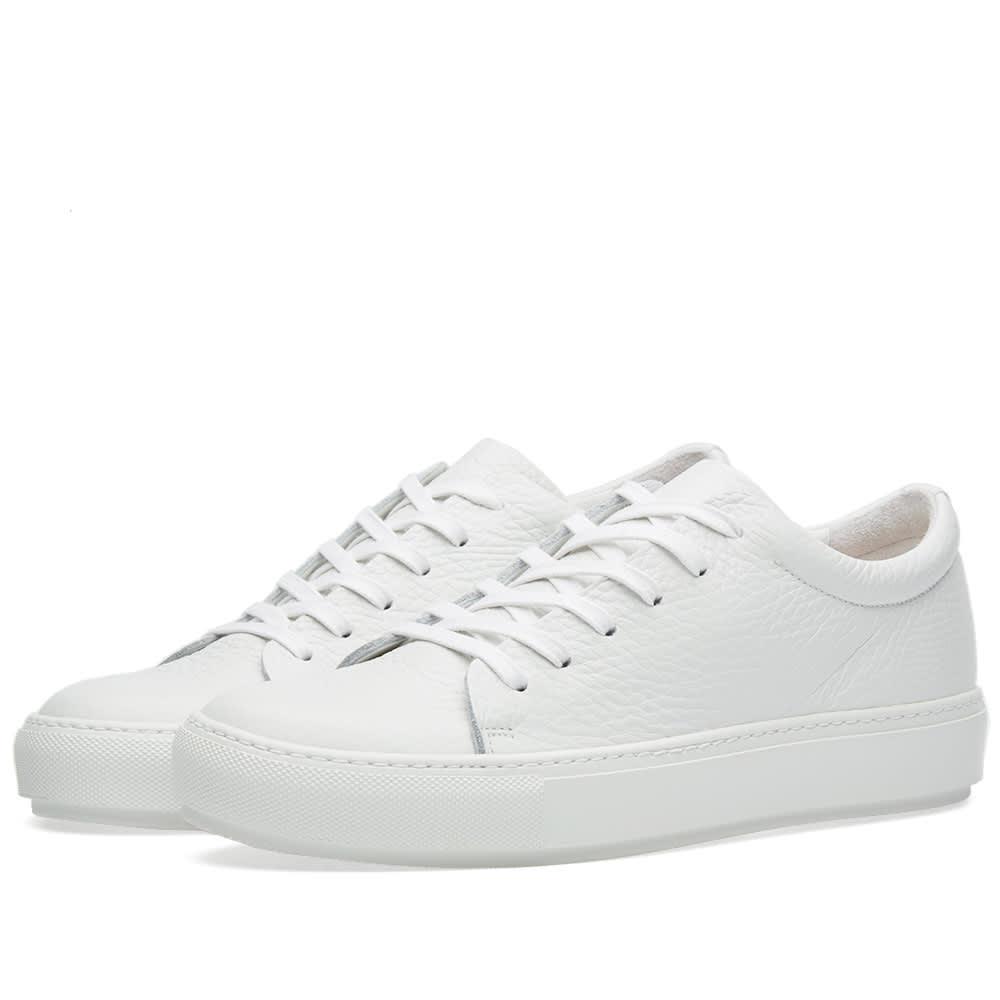 Acne Studios Adrian Grain Sneaker White
