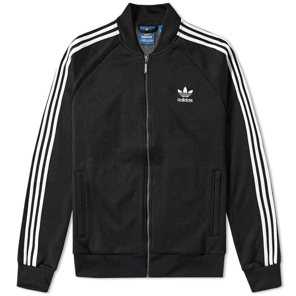 adidas superstar track top black. Black Bedroom Furniture Sets. Home Design Ideas