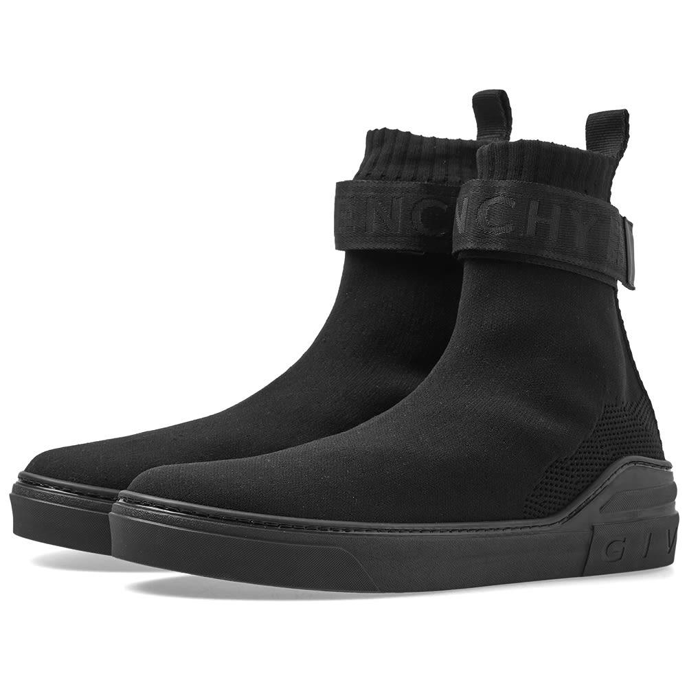 Givenchy George V Strap Sneaker Black