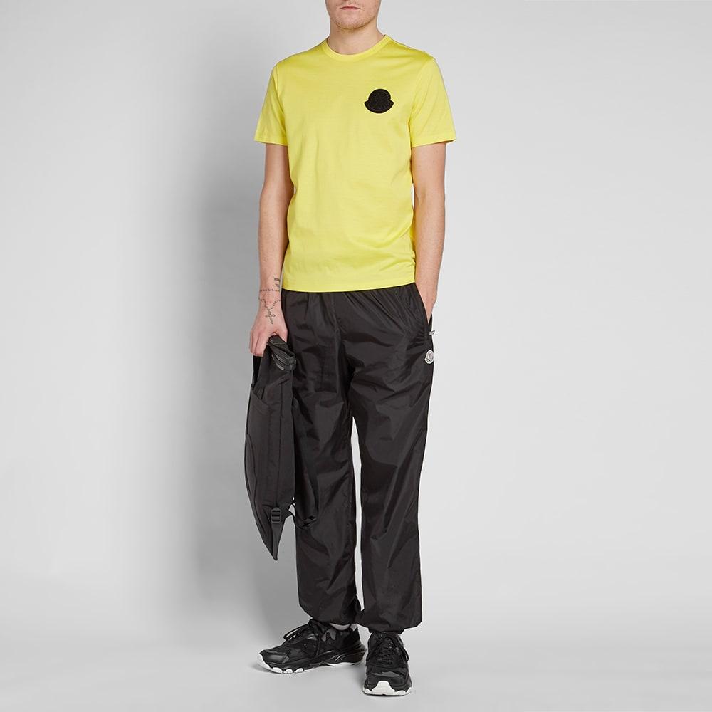 df978192 Moncler Genius - 2 Moncler 1952 - Contrast Logo Patch Tee. Yellow & Black