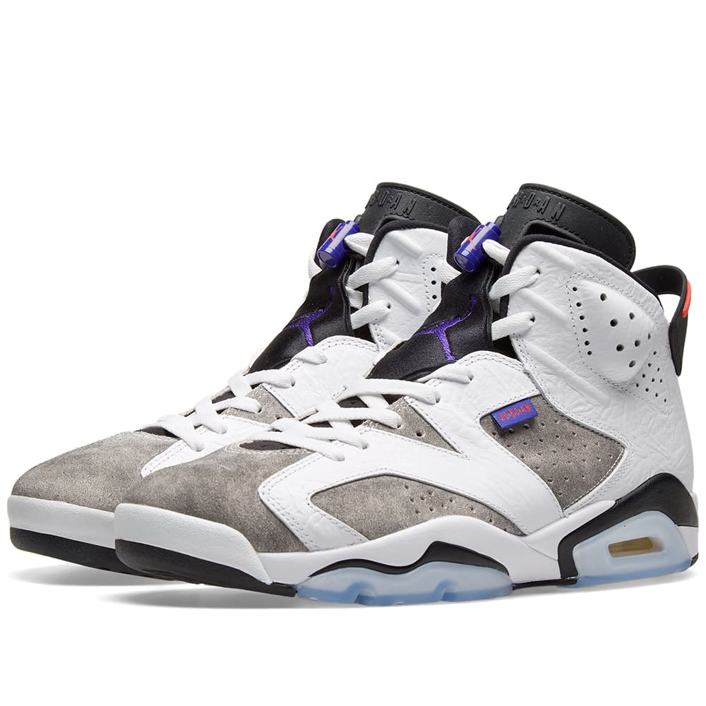 best website 4bdf2 0a225 Air Jordan 6 Retro White, Dark Concord   Black   END.