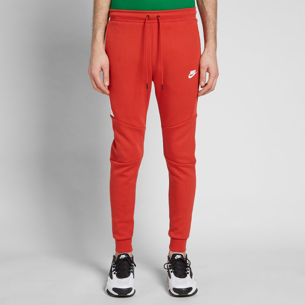 20d2f8d7 Nike Tech Fleece Jogger Mystic Red & White | END.