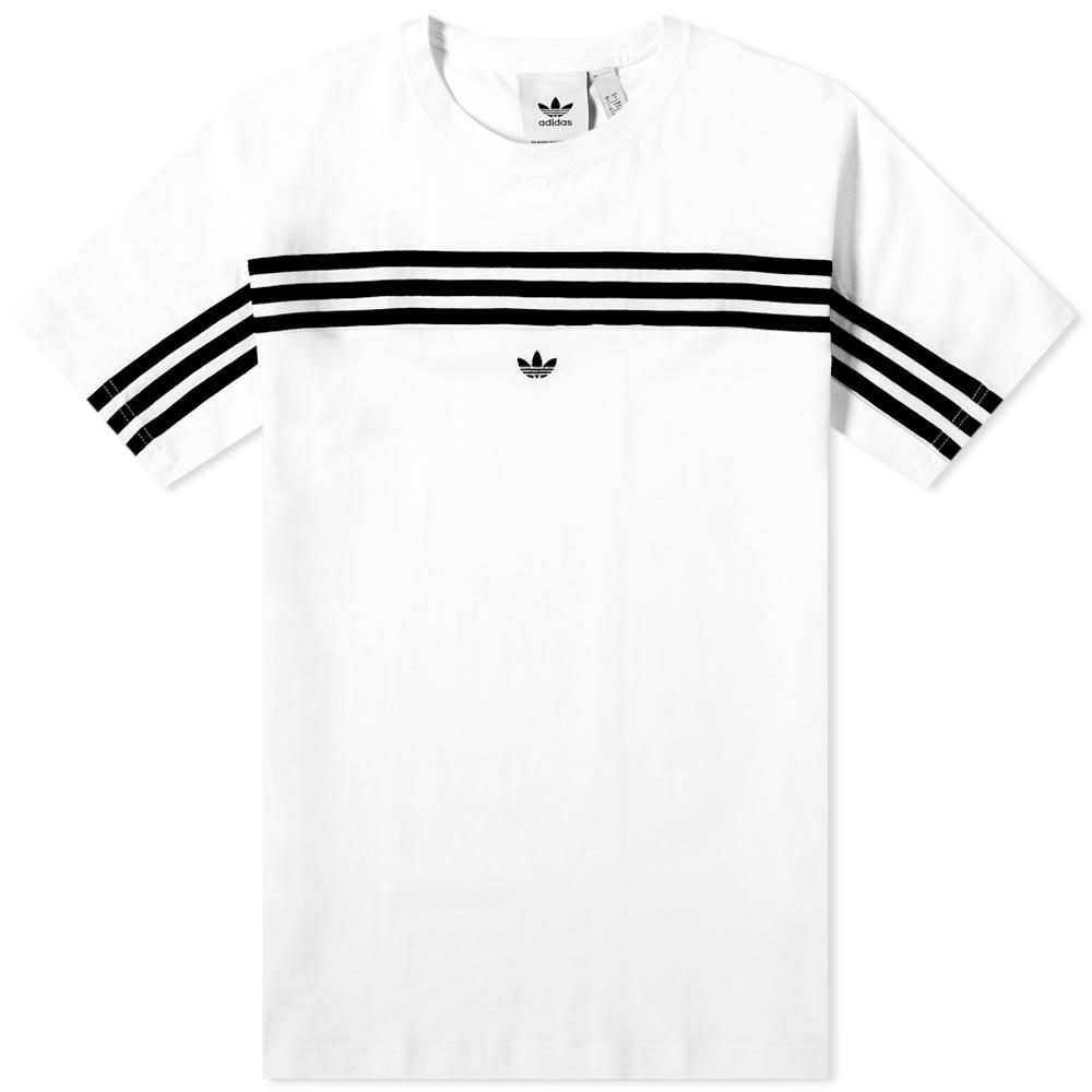 adidas 3 stripes tee