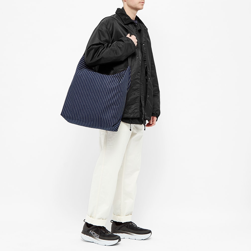 Engineered Garments Stripe Carry All Tote