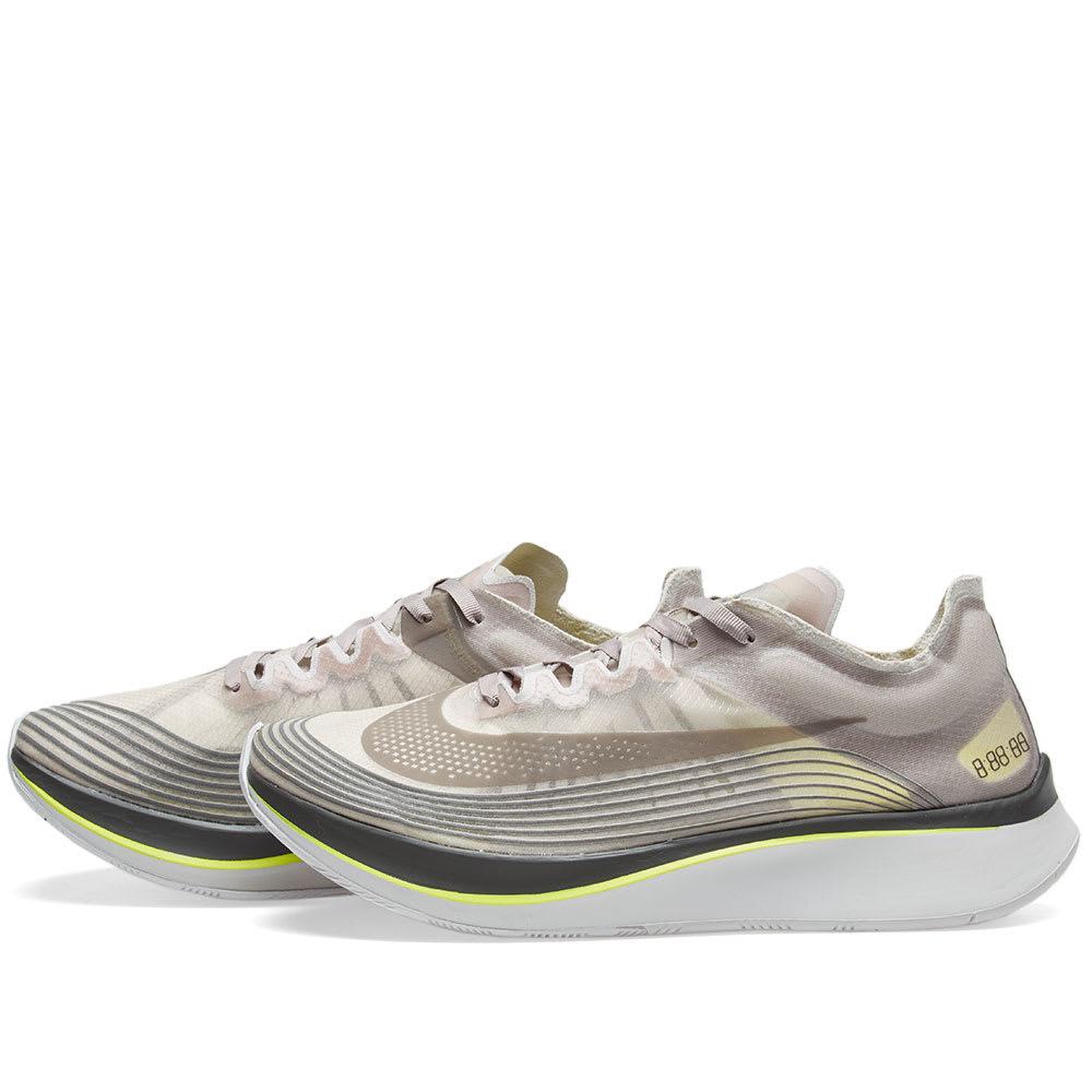 bda0eb88a140 NikeLab Zoom Fly Sepia Stone   Sonic Yellow