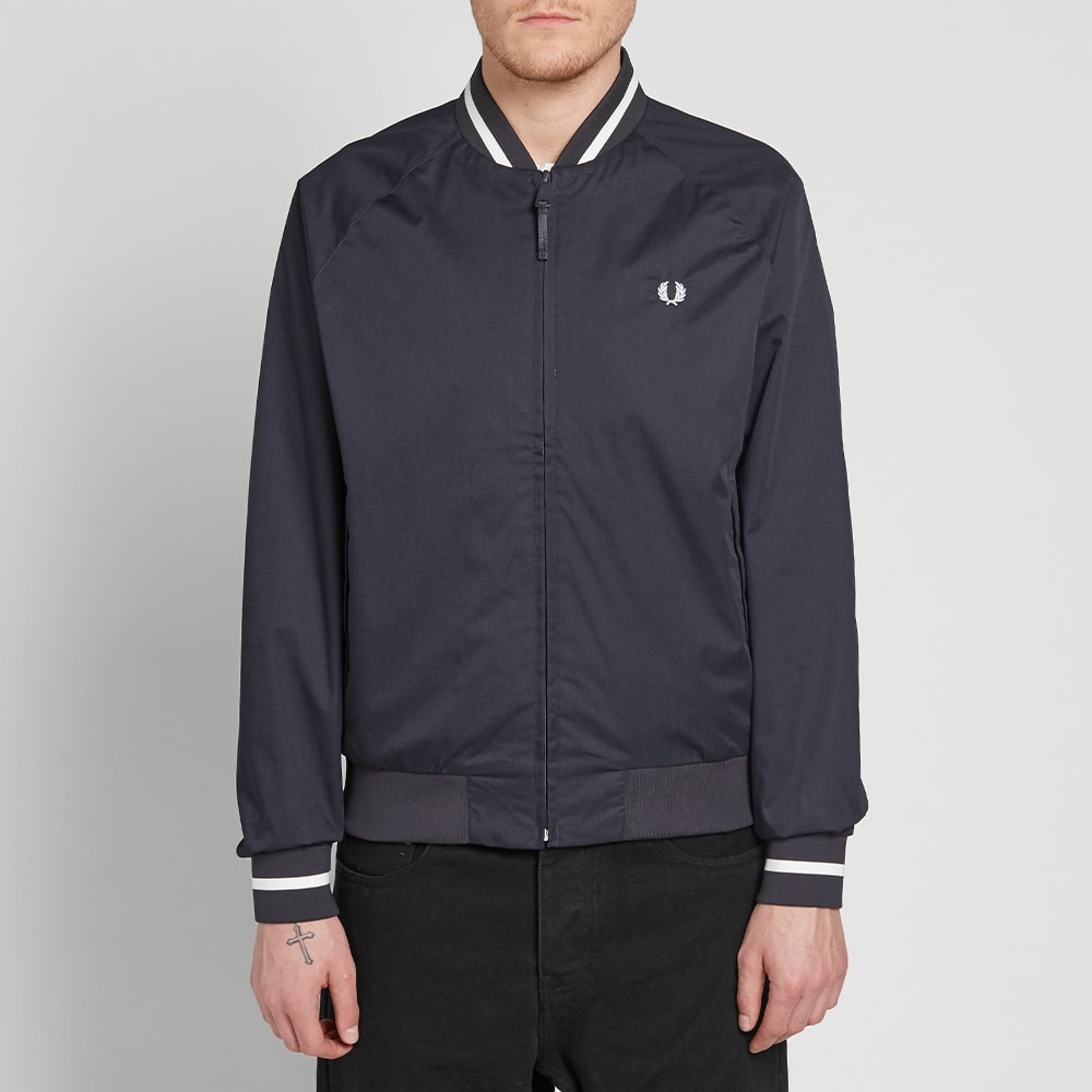 New Mens Fred Perry  Tennis Bomber Navy