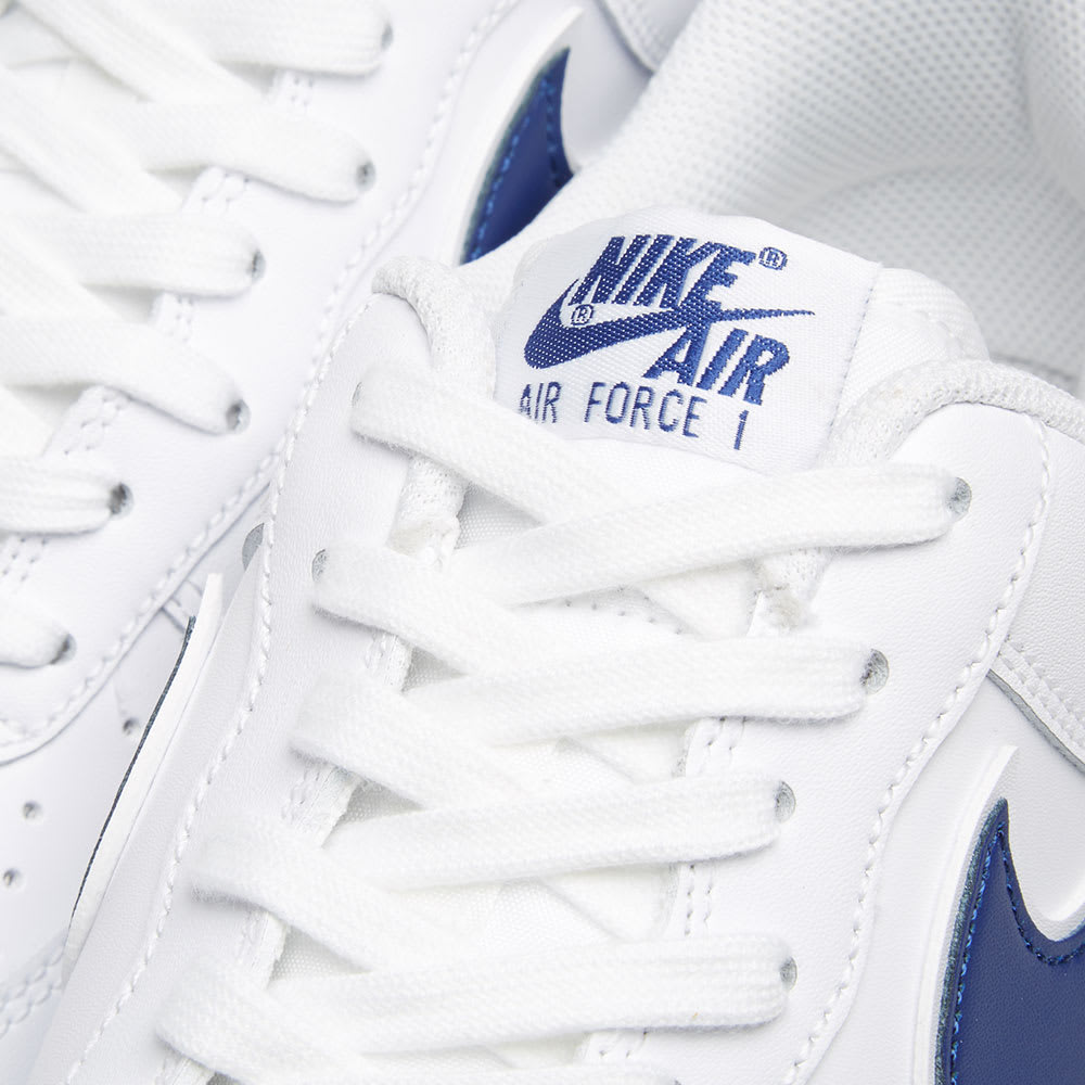 online retailer d9261 1a272 Nike Air Force 1  07 3 White   Deep Royal   END.
