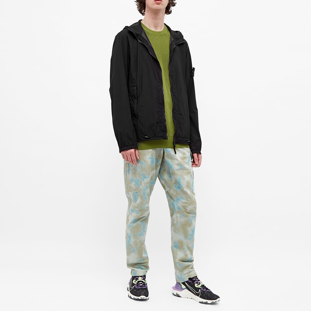 Stone Island Skin Touch Hooded Jacket Black End