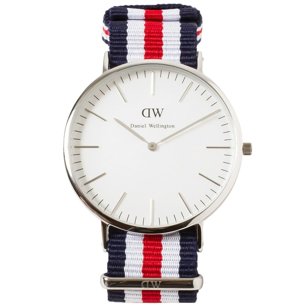 daniel wellington classic canterbury watch silver. Black Bedroom Furniture Sets. Home Design Ideas