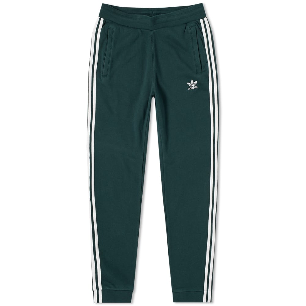 3e83087e205c Adidas 3 Stripe Sweat Pant Green Night