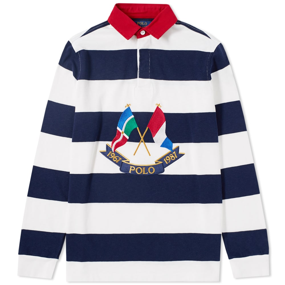 Flags Polo Ralph Rugby Lauren Shirt Crossed YIbf7y6gv