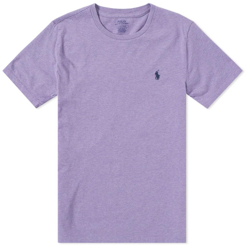 283fcddc2 Polo Ralph Lauren Crew Neck Tee Purple