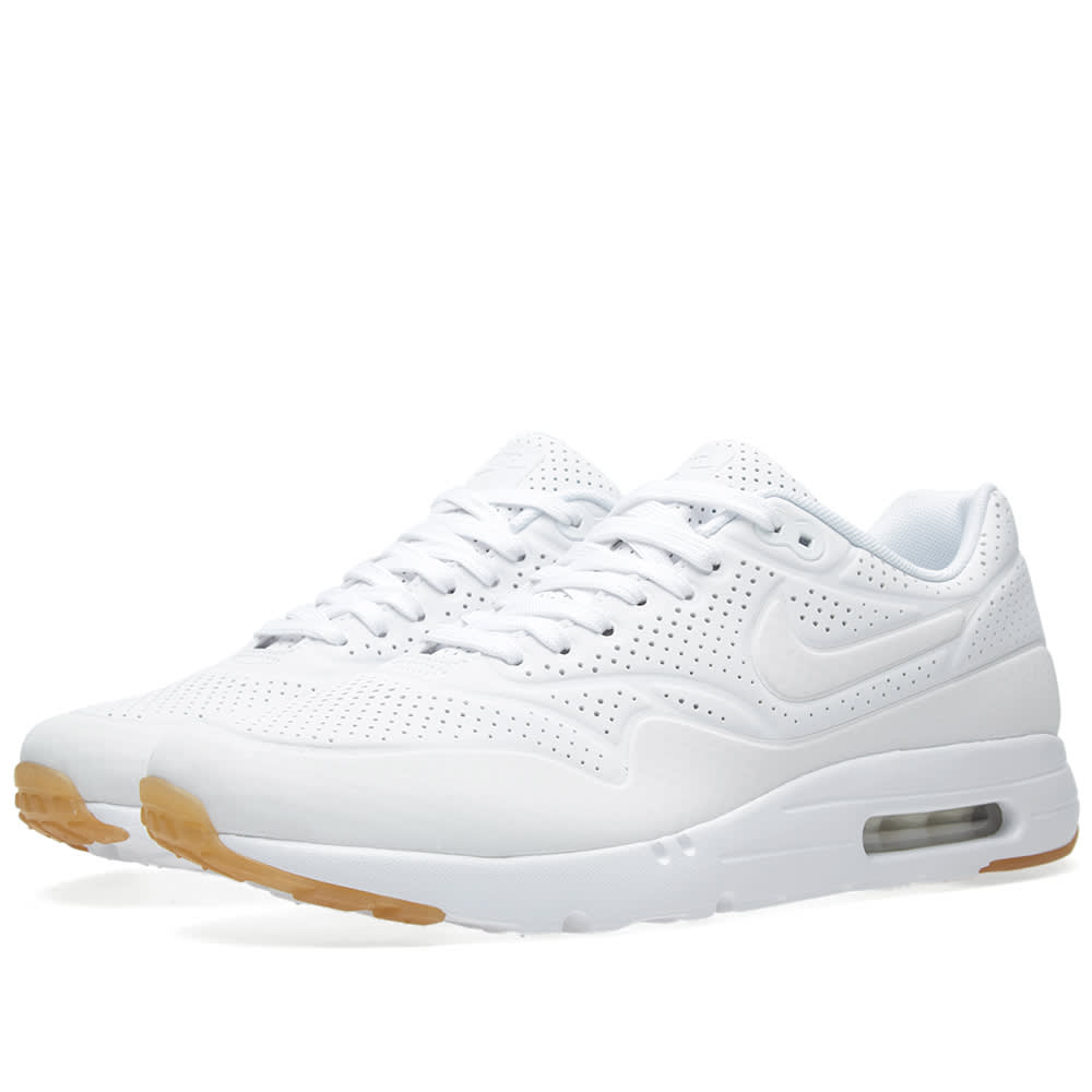 timeless design 1588b 7de49 Nike Air Max 1 Ultra Moire White   END.