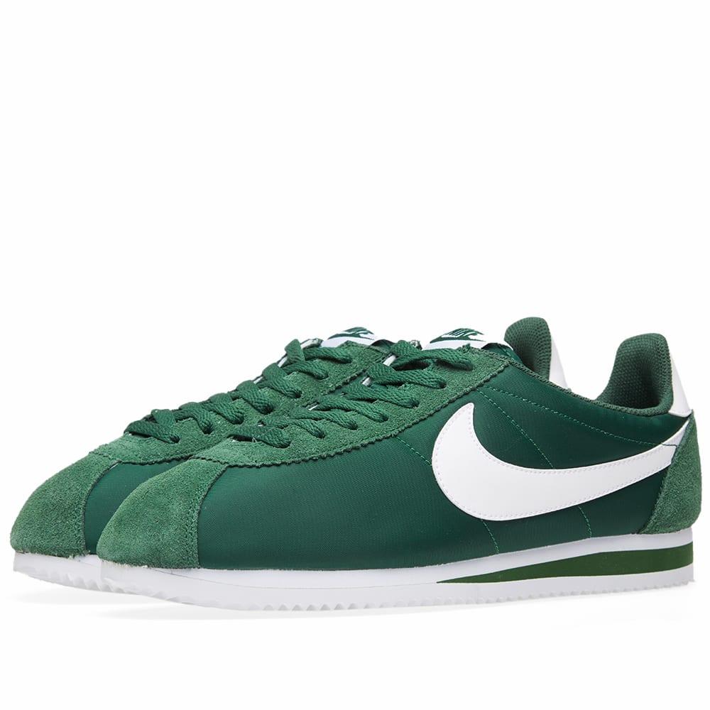 the best attitude e9433 ce5e4 Nike Classic Cortez Gorge Green   White   END.