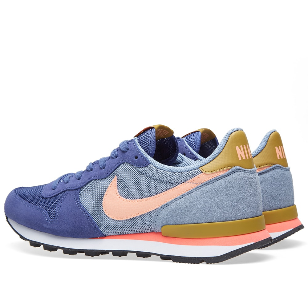 fe7181446 Nike Internationalist Blue Legend   Sunset Glow