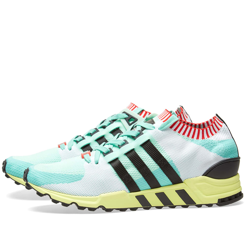 new product 3caa1 7a219 Adidas EQT Support RF PK Frozen Green   Black   END.