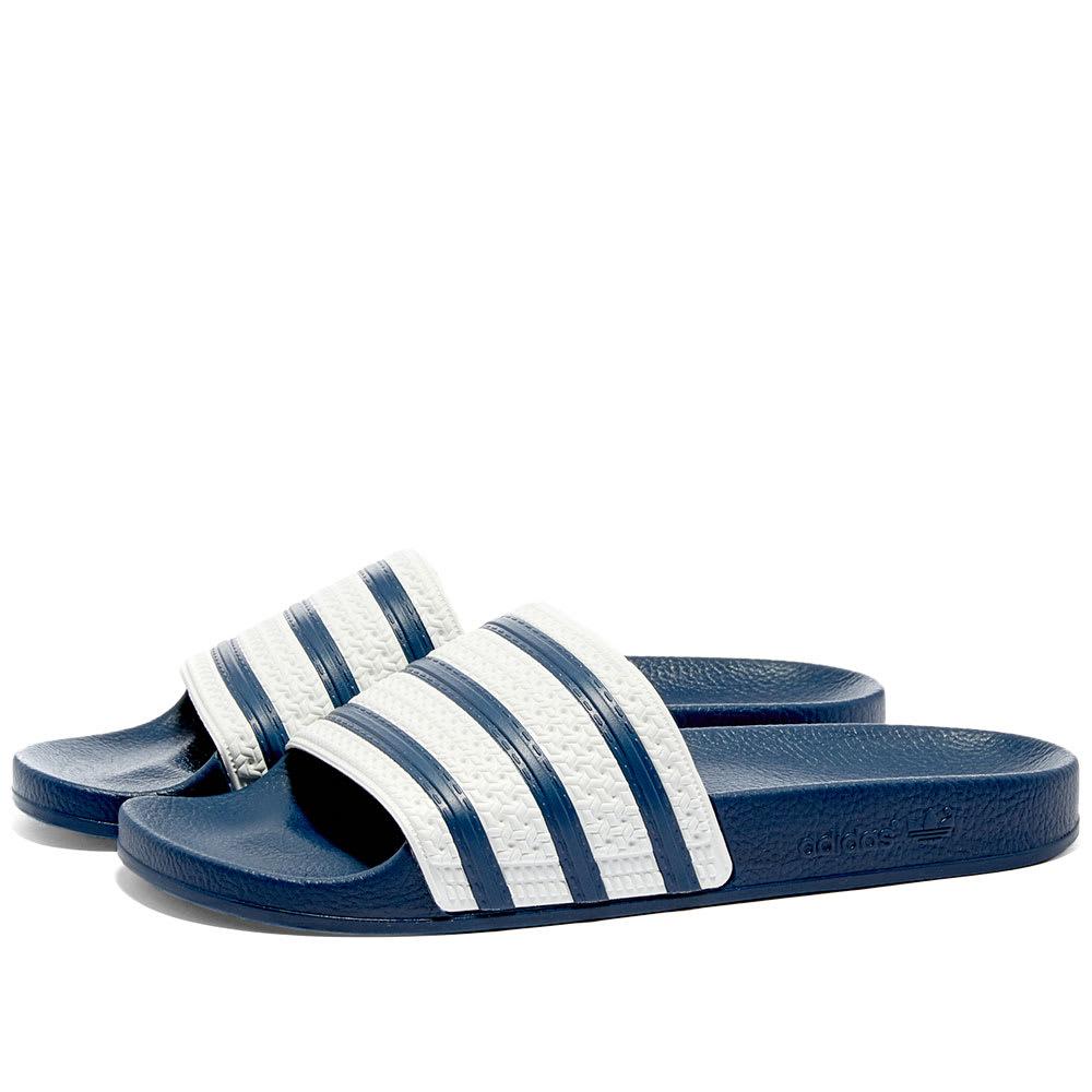 Adidas Adilette Blue \u0026 White | END.