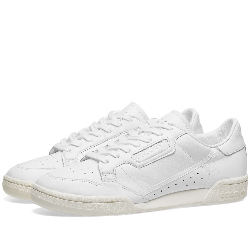 financiero soborno Por ahí  Adidas Continental 80 White & Off White | END.