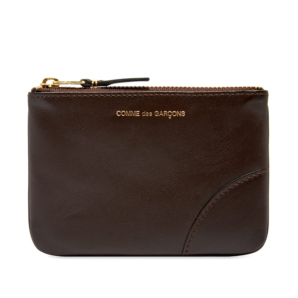 Comme Des GarÇOns Comme Des Garcons Sa8100 Classic Wallet In Brown