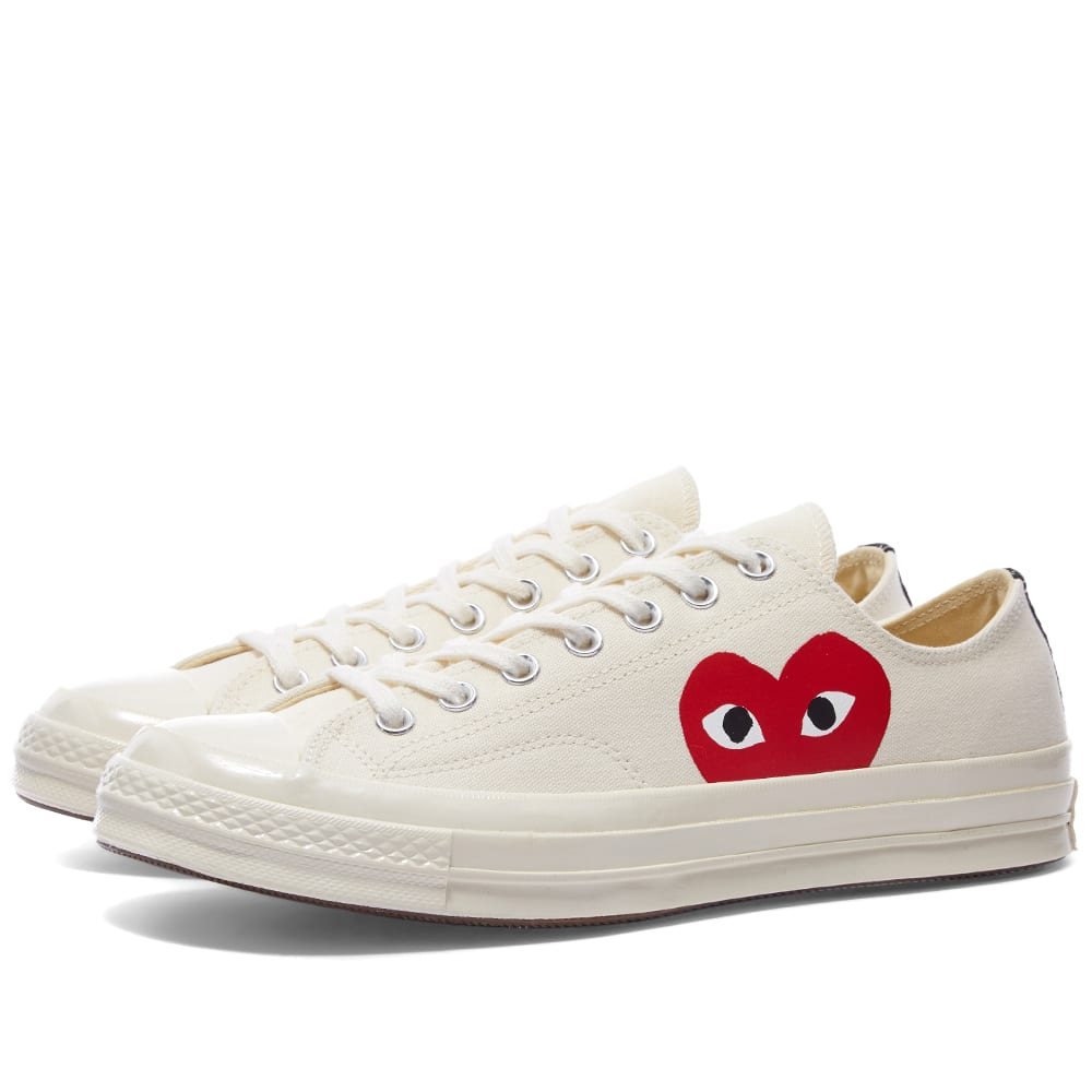 check out 4d9fb 33d5b Comme des Garcons Play x Converse Chuck Taylor 1970s Ox Beige   END.