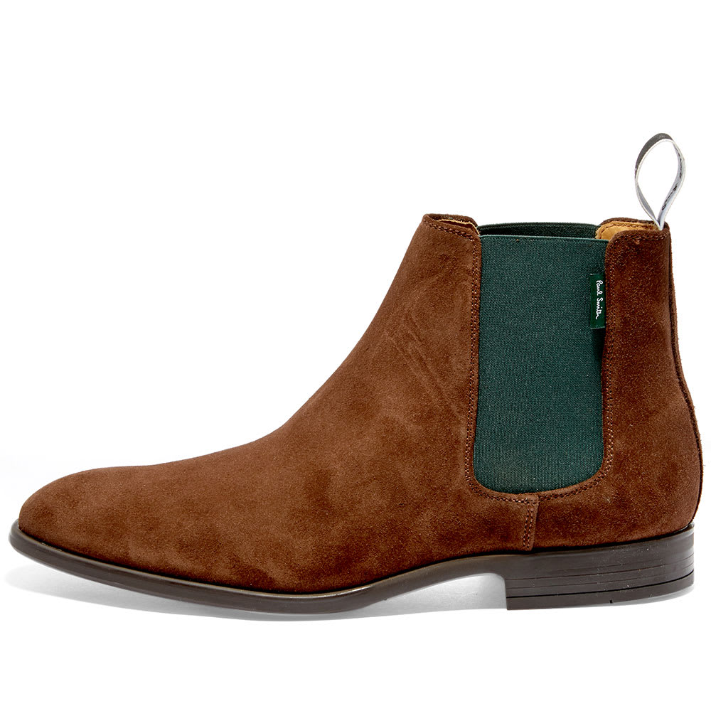 Paul Smith Gerald Chelsea Boot Chocolate Brown End