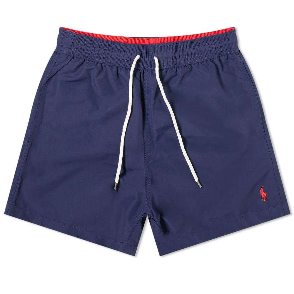31a29d670b Polo Ralph Lauren Classic Traveller Swim Short In Blue | ModeSens