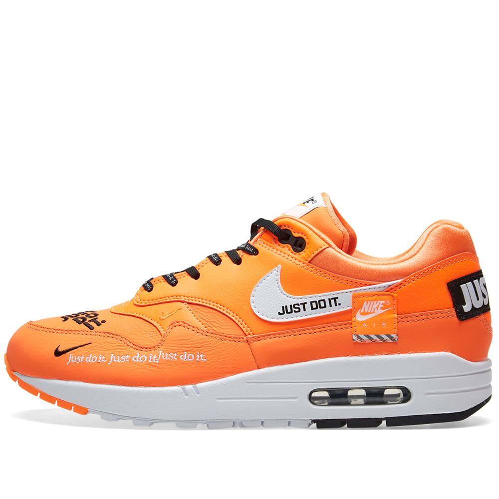 separation shoes c46ae d37aa Nike Air Max 1 Lux W Orange, White   Black   END.