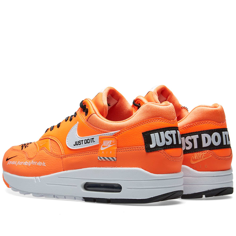 separation shoes 07fef f4d83 Nike Air Max 1 Lux W Orange, White   Black   END.