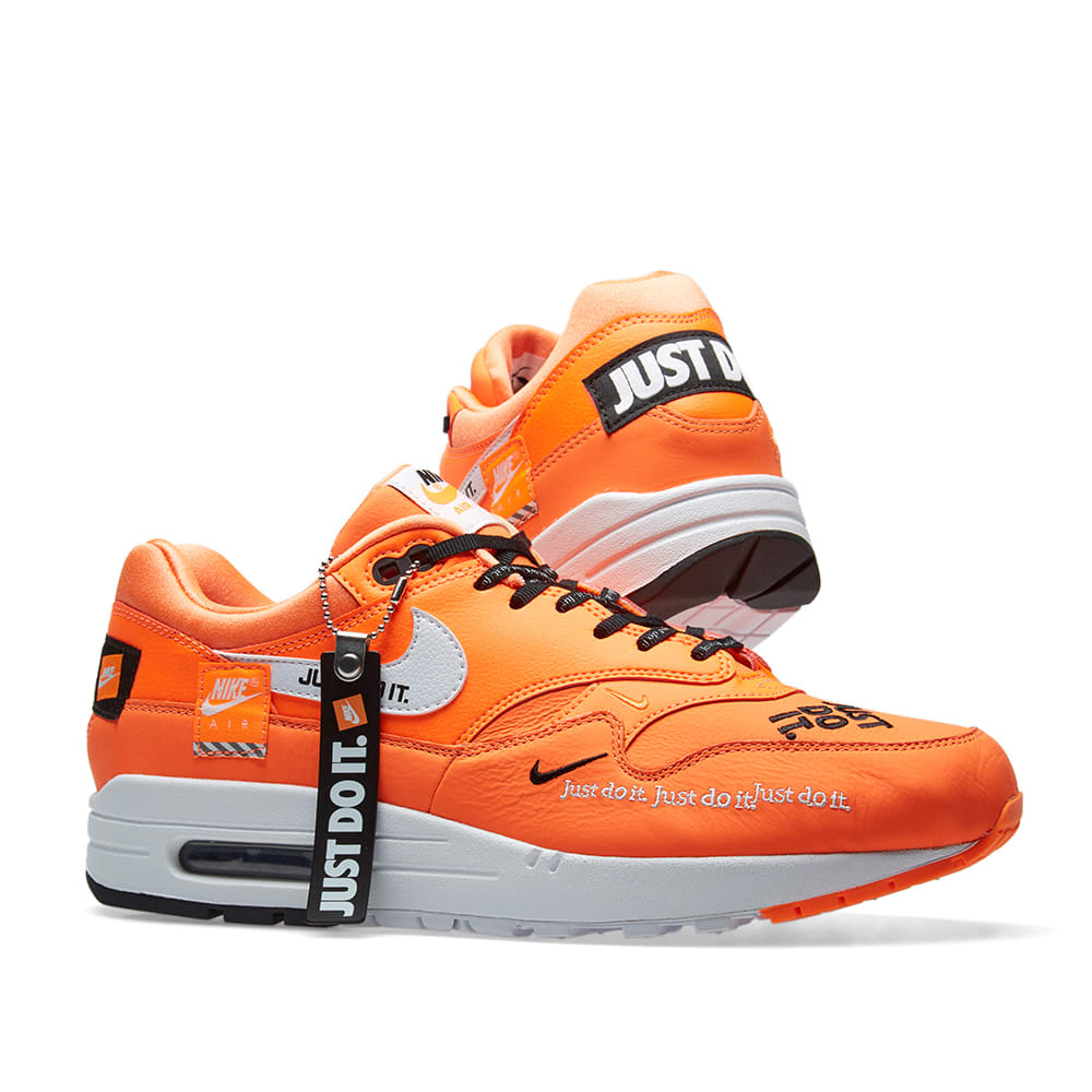 check out 9ac3c 4fb90 Nike Air Max 1 Lux W. Orange ...