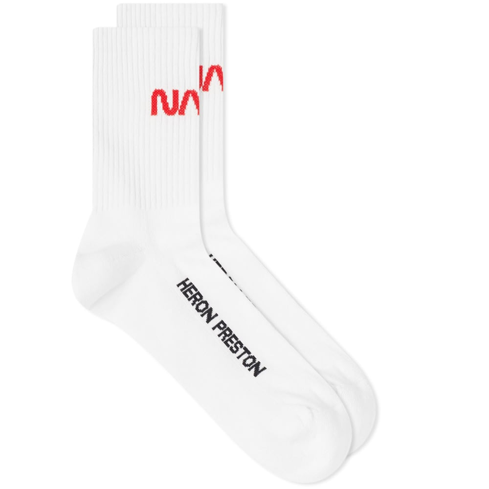 Heron Preston Nasa Sock by Heron Preston